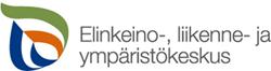 Elinkeino-, liikenne- ja ympäristökeskuksen logo.
